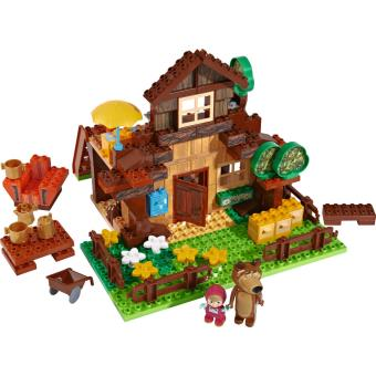 maison masha et michka lego