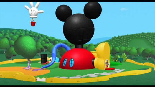 maison mickey mouse