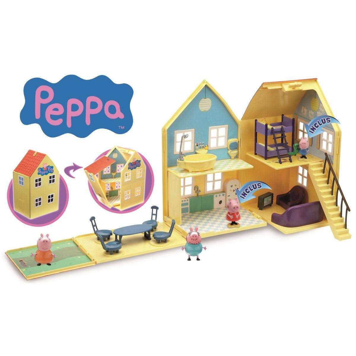 maison peppa pig