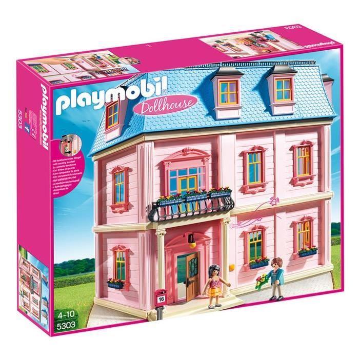 maison playmobil cdiscount