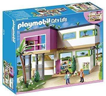 maison playmobil moderne