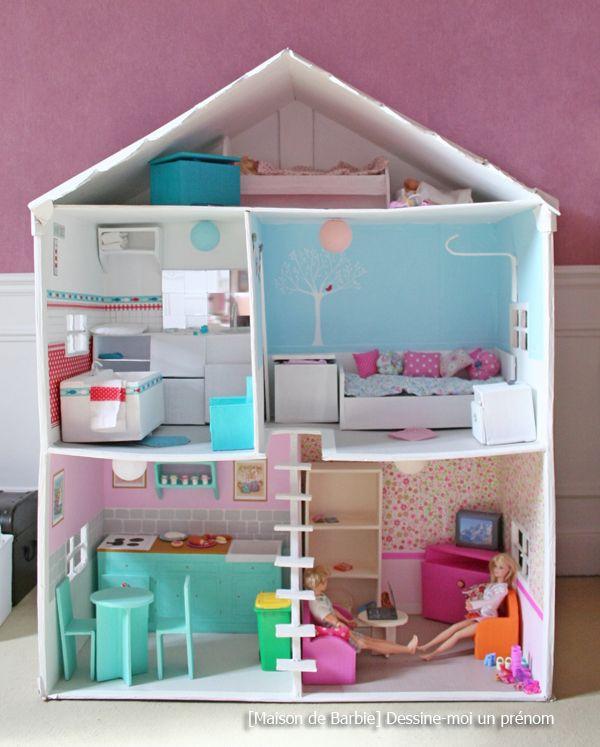 maison pour barbie