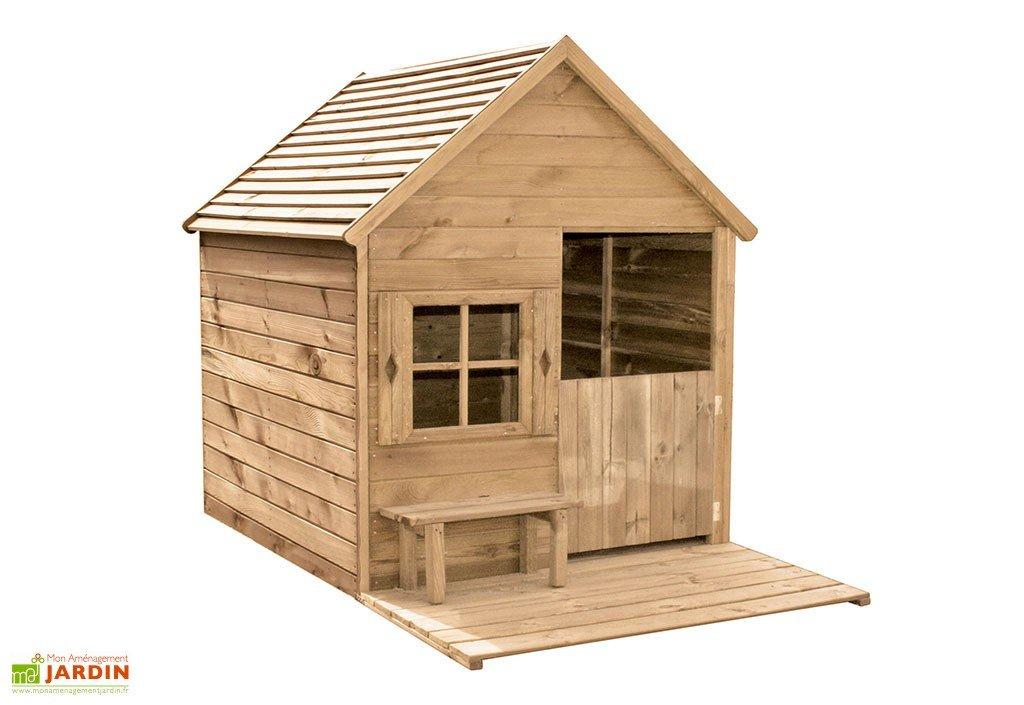 maison pour enfant bois