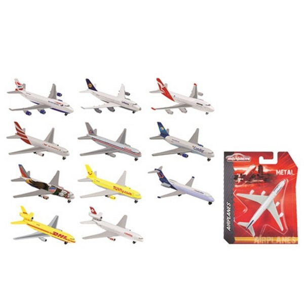 majorette avion metal