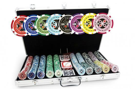 malette de poker 1000 jetons