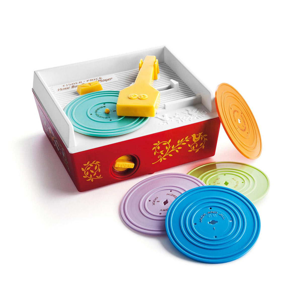 mange disque jouet