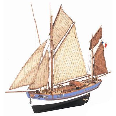 maquette bateau en bois