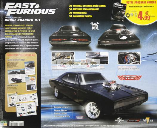 maquette dodge charger fast and furious