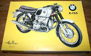 maquette moto heller