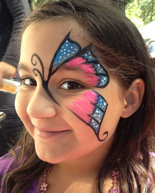 maquillage enfant papillon