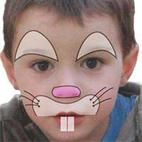 maquillage lapin enfant
