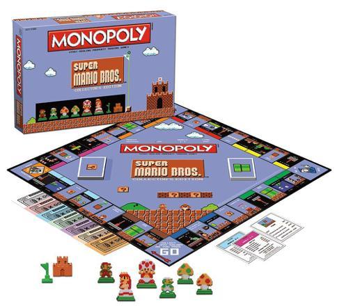 mario bros monopoly