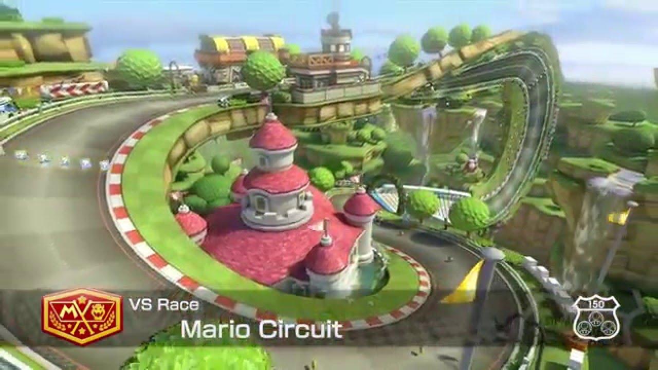 mario kart 8 circuit