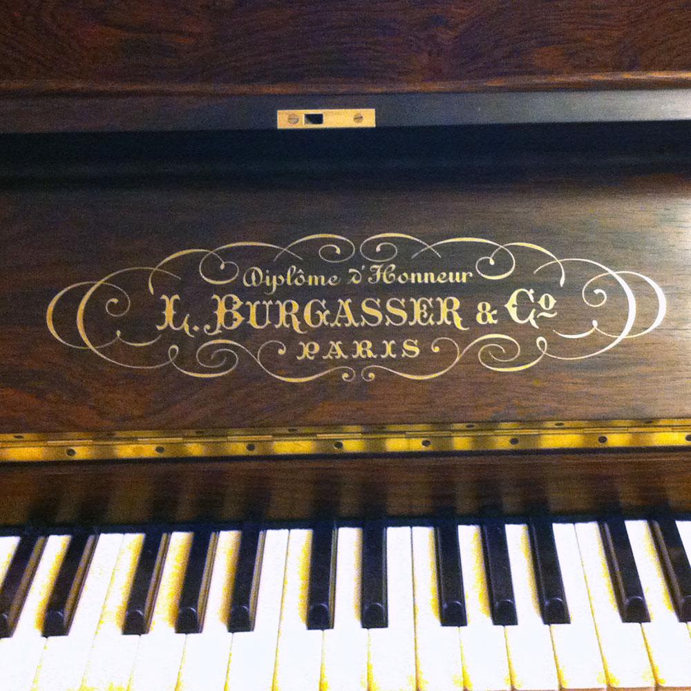 marque de piano