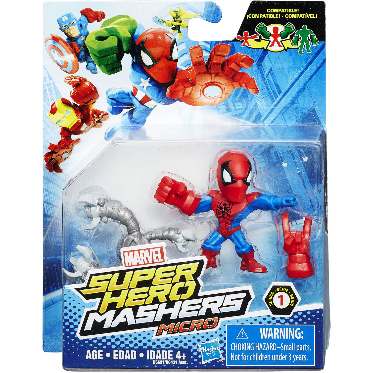marvel hero mashers