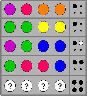 mastermind puzzle