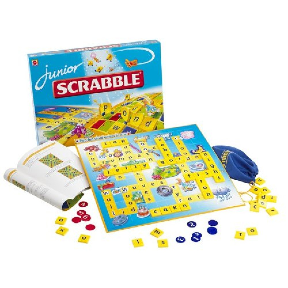 mattel junior scrabble