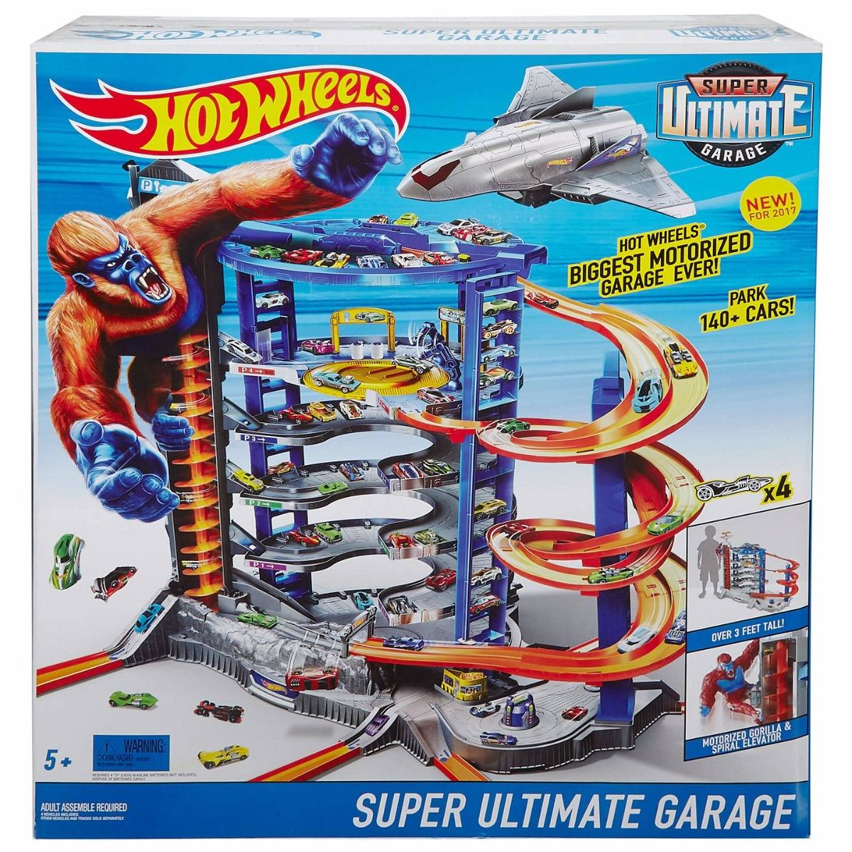 mega garage hot wheels