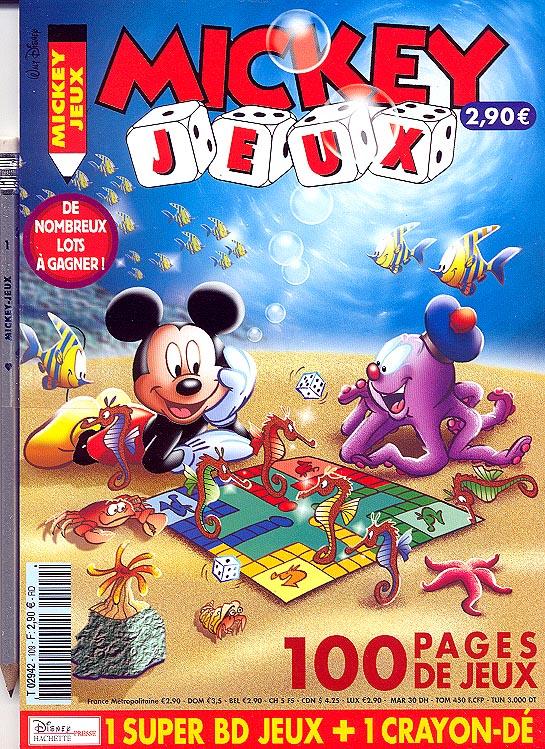 mickey jeux