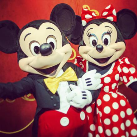 mickey with minnie