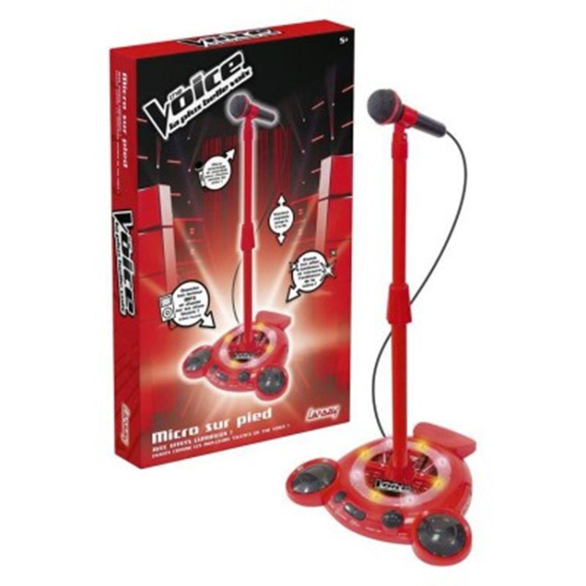 micro the voice sur pied