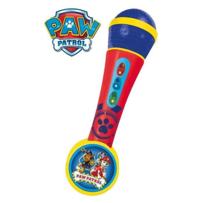 microphone la pat patrouille