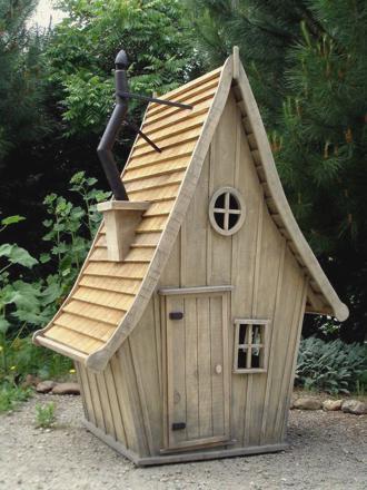 mini cabane en bois