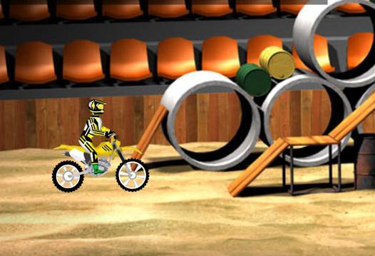 mini jeux moto