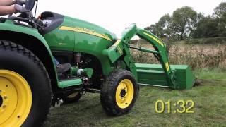 mini tracteur john deere