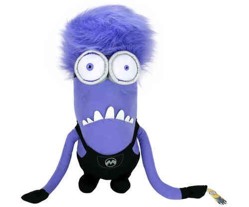 minion violet peluche