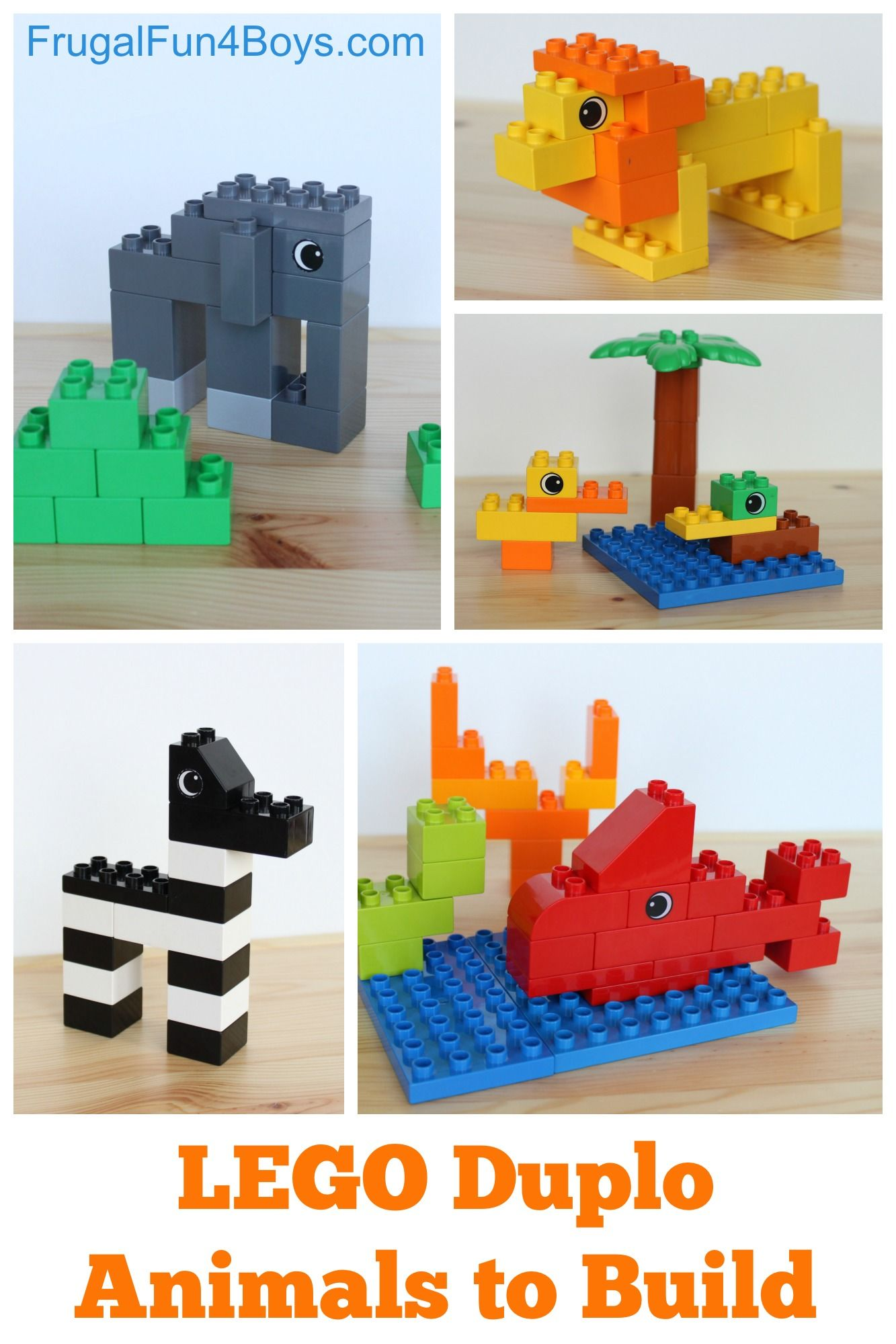 modele construction lego duplo