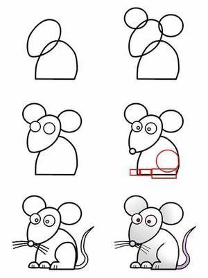 modele dessin pour enfant