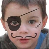 modele maquillage pirate garcon