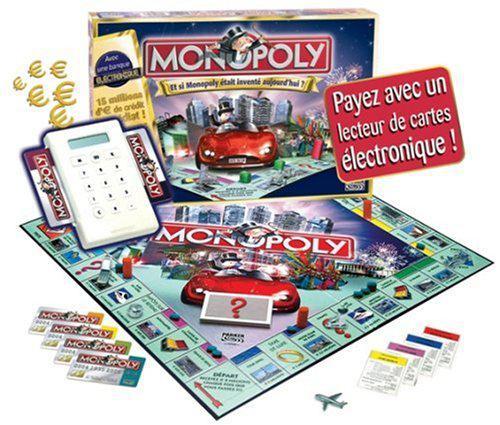 monopoly avec carte bancaire