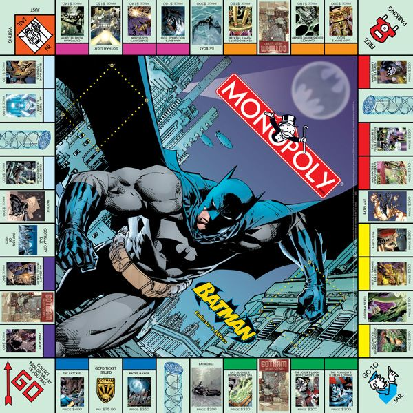 monopoly batman edition