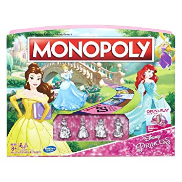 monopoly disney princess edition