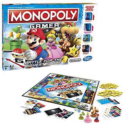 monopoly mario gamer
