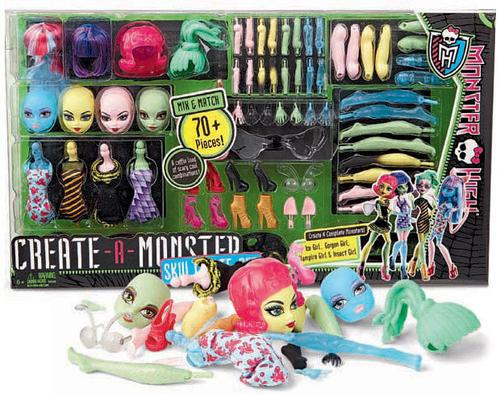 monster high a construire