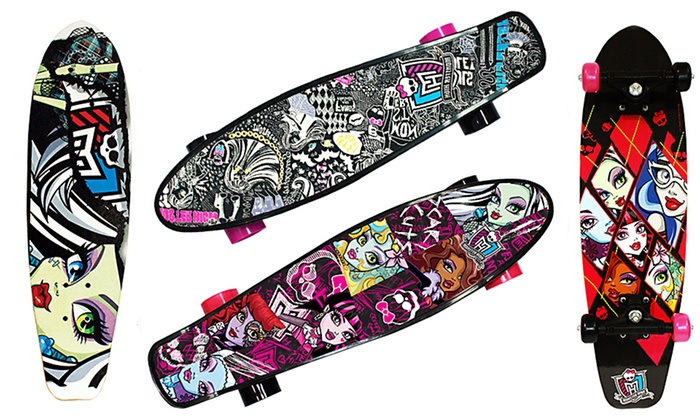 monster high skateboard