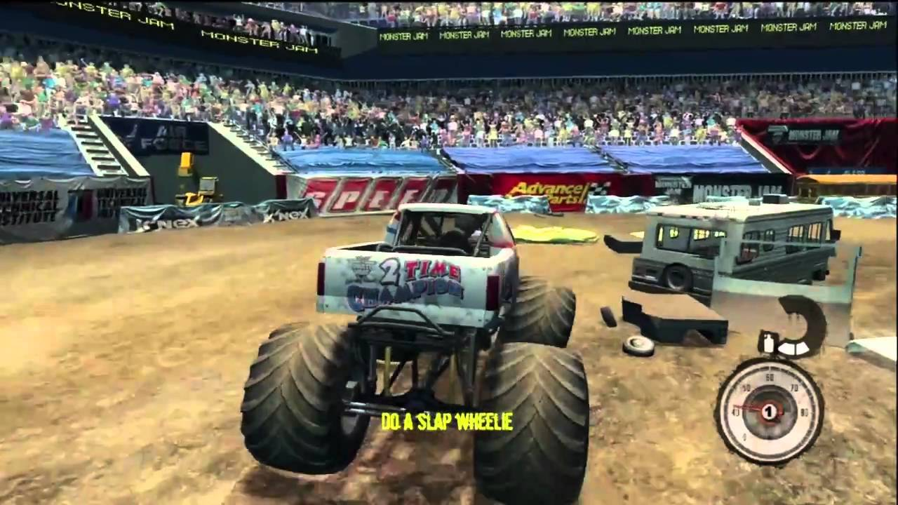monster jam jeux