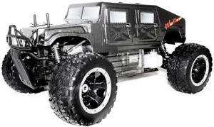 monster truck telecommande a essence