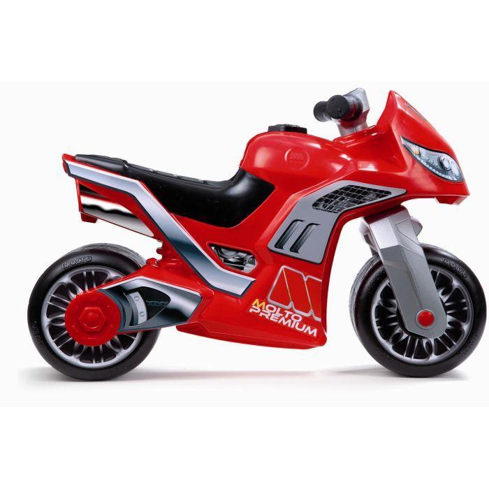 moto a pousser jouet