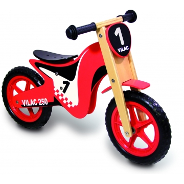 moto bois jouet