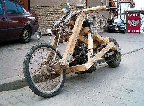 moto bois