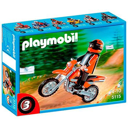 moto cross playmobil