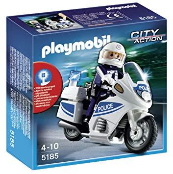 moto de police playmobil