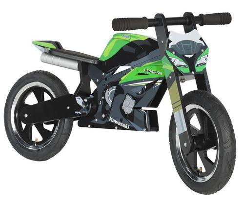 moto en bois kawasaki