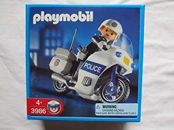 moto police playmobil