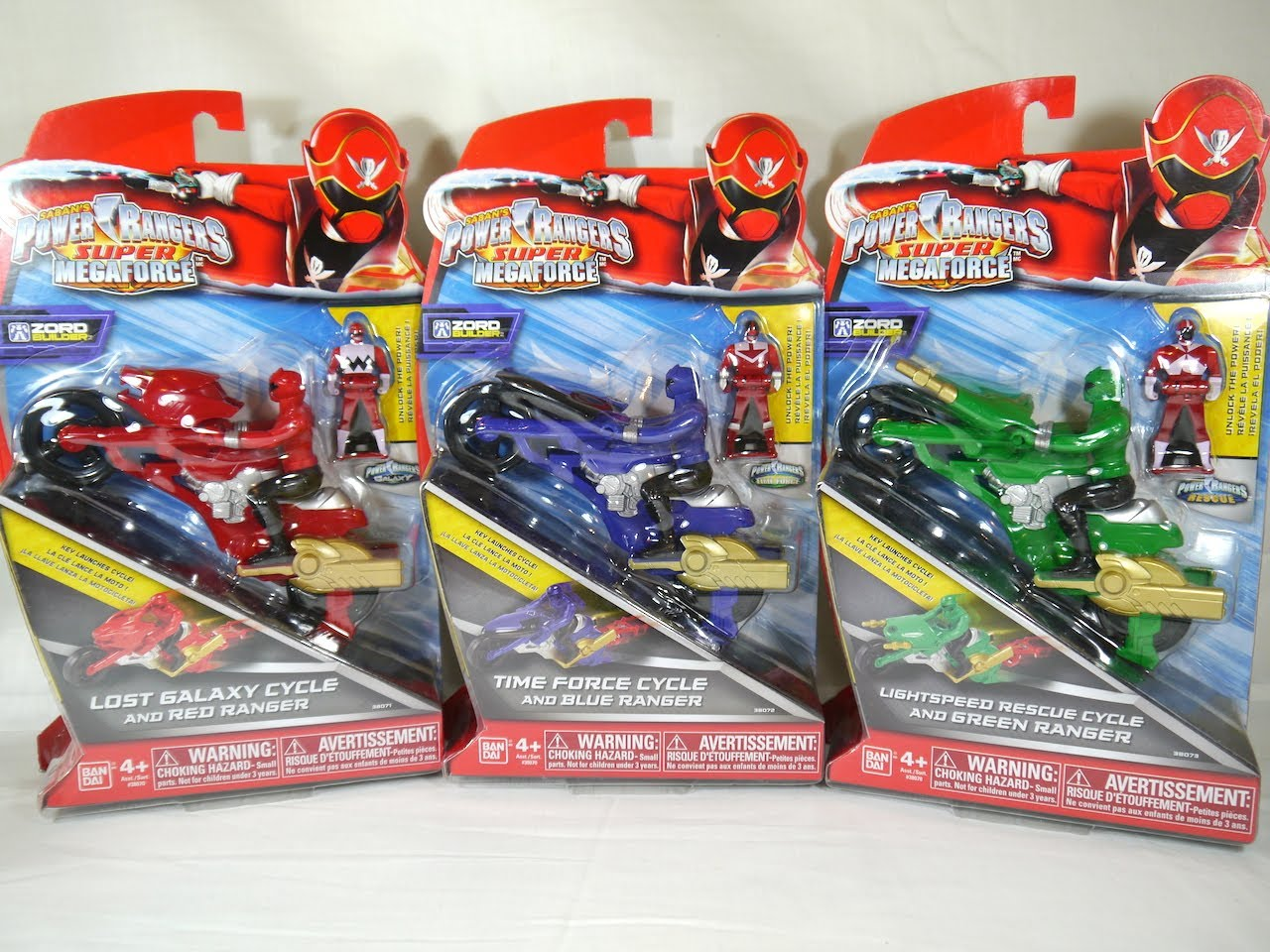 moto power rangers megaforce