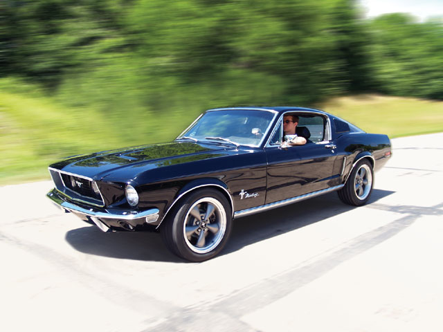 mustang fastback 68